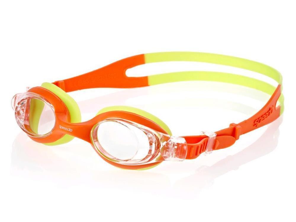 87d29cf563f7f Speedo Skoogle Kids Schwimmbrille - orange/green