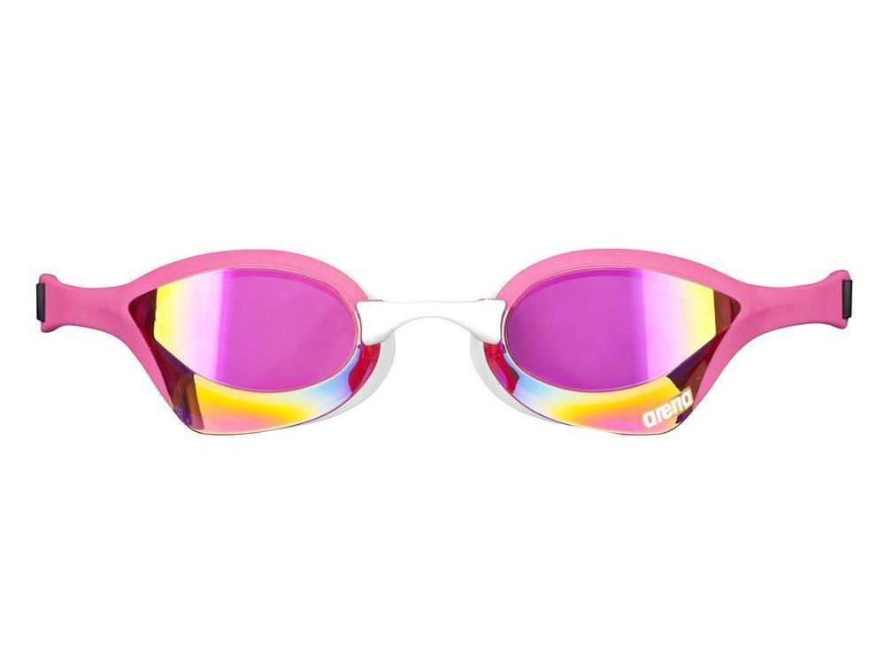Arena Cobra Ultra Mirror Schwimmbrille Pink Revo Pink White