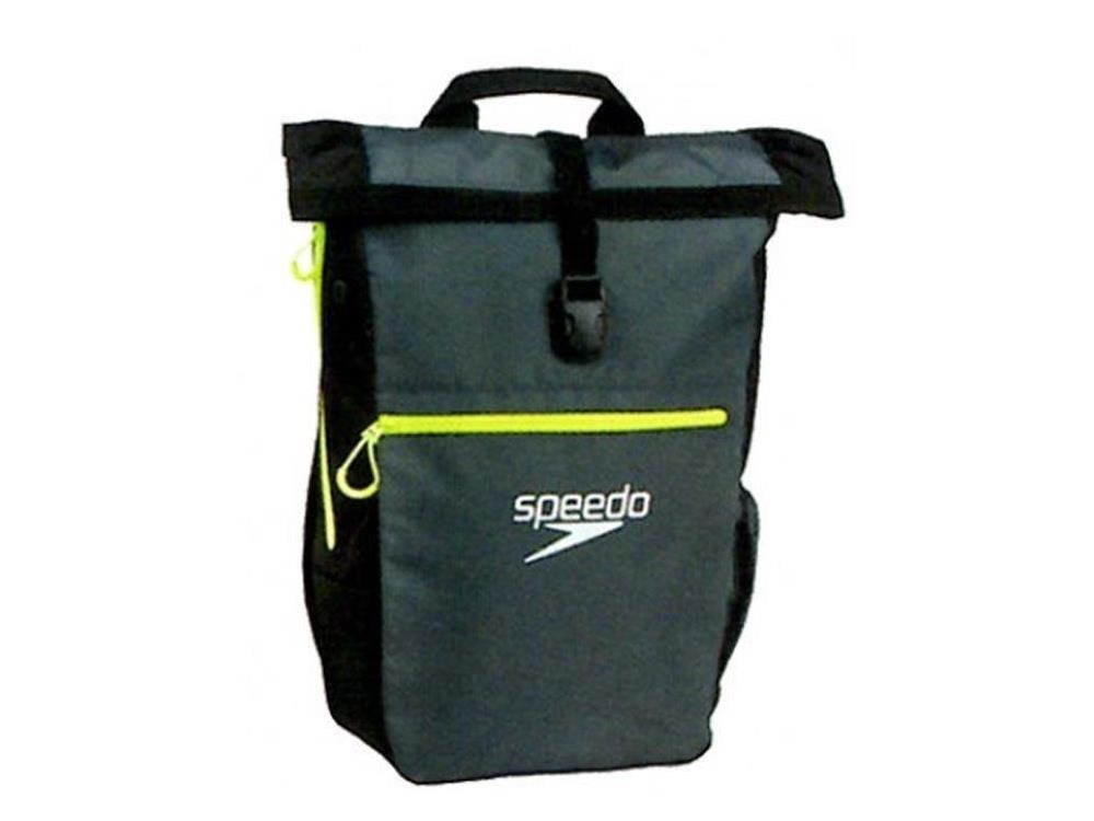 Speedo Team Rucksack III 30 Liter - oxid grey/black/fluo yellow