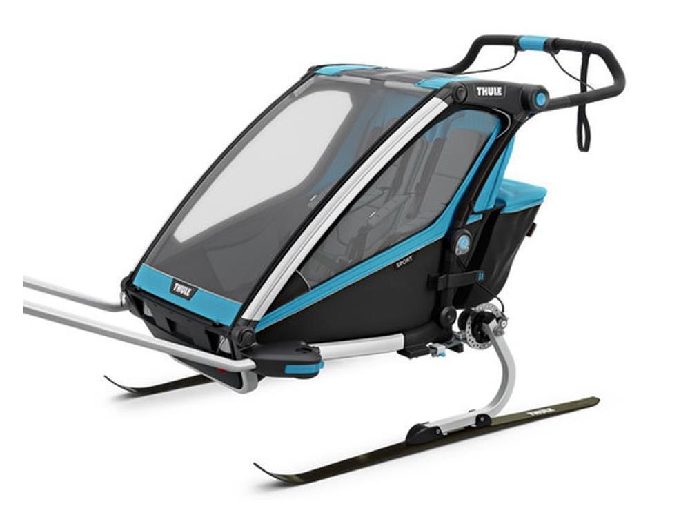 thule chariot sport 2 kinderanh nger blue. Black Bedroom Furniture Sets. Home Design Ideas
