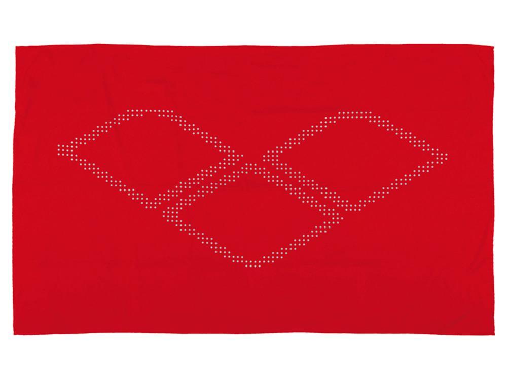 arena halo microfaser handtuch 145x90 cm red white. Black Bedroom Furniture Sets. Home Design Ideas