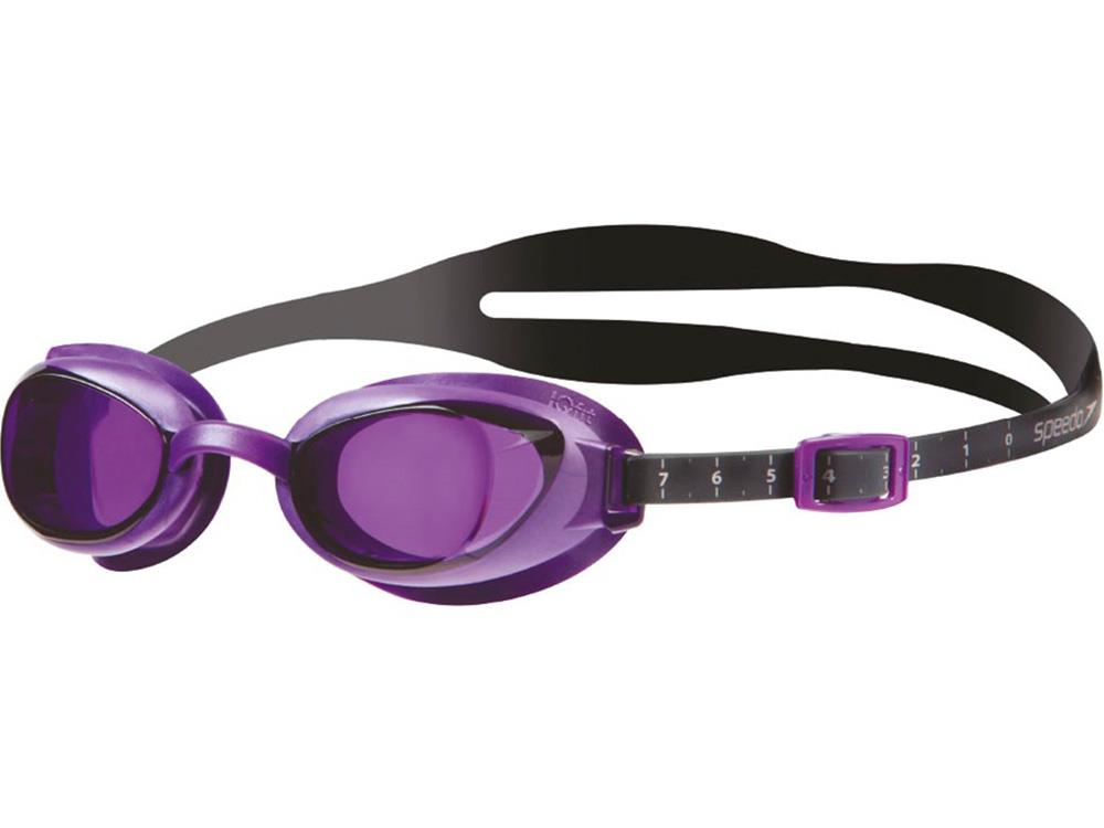 a5eeb421ce22a Speedo Aquapure Optical Women Schwimmbrille grey/purple - -1,5