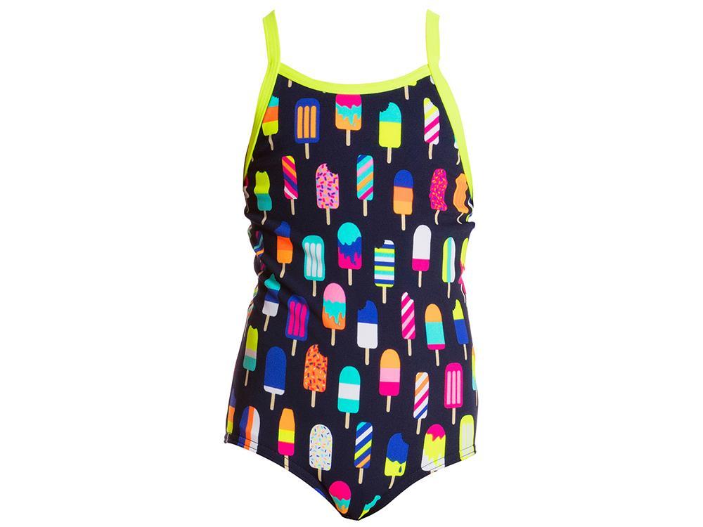 ankommen Räumungspreise professionelles Design Funkita Frosty Fruits Toddler Girls Badeanzug - 116 (5)