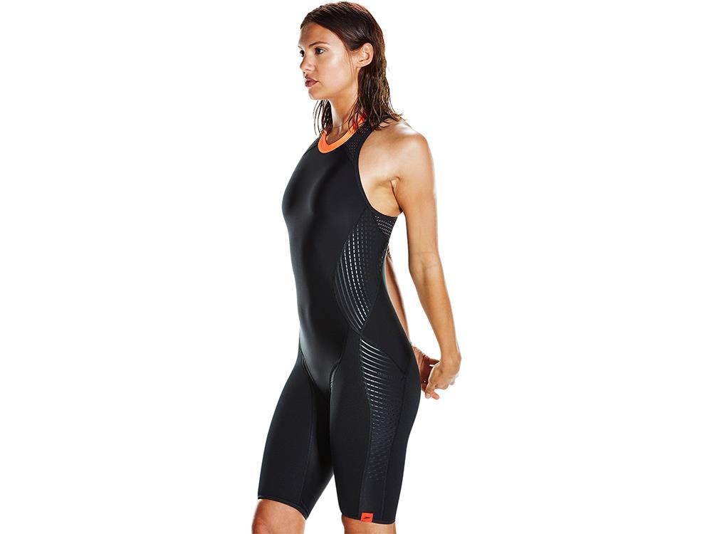 neue Version kosten charm damen Speedo Fit HydroRaise Badeanzug langes Bein PowerFlex+ - 42 ...