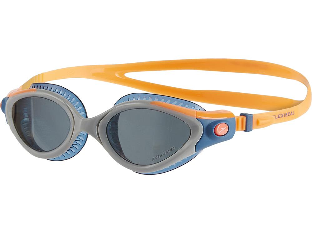 speedo Futura Biofuse Flexiseal Triathlon Female Goggle Fluo Orange/Stellar/Smoke 2018 Schwimmbrillen