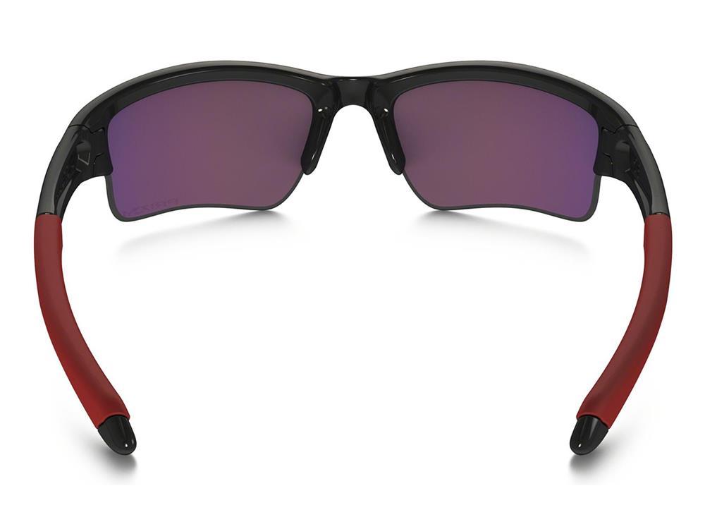 Oakley Quarter Jacket Brille Youth Fit polished black/prizm road