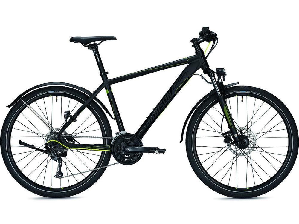 morrison tucano sport stvzo mountainbike 38 black yellow matt. Black Bedroom Furniture Sets. Home Design Ideas