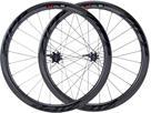 Zipp 303 Firecrest Disc Carbon Clincher Laufradsatz - Campa Drahtreifen schwarz