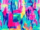 Funkita Impressionista Girls Badeanzug Diamond Back - 140 (8)