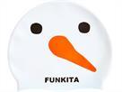 Funkita Snowy Silikon Badekappe
