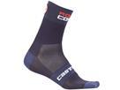 Castelli Rosso Corsa 13 Socken - L/XL dark steel blue