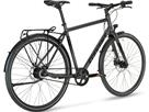 Stevens City Flight Luxe Gent Cityrad - 55 midnight grey