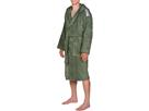 Arena Core Soft Robe  Bademantel - M army/white