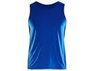 Craft Essential Singlet Herren Laufshirt - L true blue
