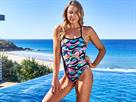 Funkita Crazy Painter Ladies Badeanzug Cut Away - 38 (12)