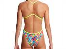 Funkita Panel Pop Ladies Badeanzug Twisted Back - 38 (12)