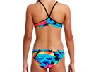 Funkita Colour Burst Girls Schwimmbikini Racerback - 152 (10)