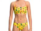 Funkita Hot Diggity Ladies Schwimmbikini Sports Top + Sports Brief - 38 (12)
