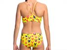 Funkita Hot Diggity Ladies Schwimmbikini Sports Top + Sports Brief - 40 (14)