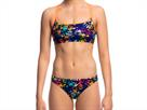 Funkita Hands Off Ladies Schwimmbikini Criss Cross Top + Bibi Banded Brief - 34 (8)