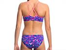 Funkita Swim Swim Ladies Schwimmbikini Criss Cross Top + Bibi Banded Brief - 36 (10)