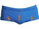 Funky Trunks Ocean Swim Men Badehose Plain Front Trunks - XL