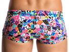 Funky Trunks Handsome Ransom Men Badehose Plain Front Trunk - XS