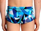 Funky Trunks Crack Attack Toddler Badehose Printed Trunks - 134 (7)