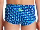 Funky Trunks Vapour Scale Toddler Badehose Printed Trunks - 128 (6)