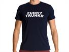 Funky Trunks Branded Navy T-Shirt Crew Neck - L