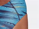 Adidas Fitness Graphic Badeanzug legend ink/dark blue - 40