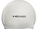 Head Flat Silikon Pearl Badekappe - silver