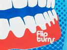 Speedo Flipturns Reversible Cap Silikon Badekappe bali blue/white/red