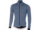 Castelli Fondo Jersey FZ Trikot Langarm - XXL moonlight blue/black