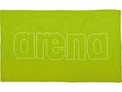 Arena Haiti Microfaser Handtuch 100x60 cm - leaf/white