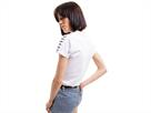 Arena Icons Damen Team T-Shirt - M white/black