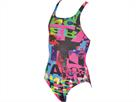Arena Instinct Mädchen Badeanzug Swim Pro Back - 116 paparazzi/paparazzi