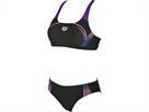 Arena Modular Schwimmbikini Swim Pro Top - 36 black/paparazzi