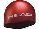 Head Moulded Silikon Badekappe - red