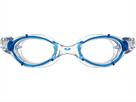 Arena Nimesis Crystal Large Schwimmbrille - blue-clear/clear