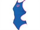 Arena ONE Biglogo Badeanzug Tech One Back - 36 royal/fluo pink