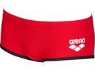 Arena ONE Biglogo Low Waist Badehose - 3 red/black