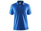 Craft Pique Classic Polo - S blue