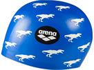 Arena Poolish Moulded Silikon Badekappe - dino blue