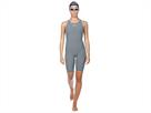 Arena Powerskin R-EVO ONE Wettkampfanzug FBSL, Open Back - 38 grey/bright orange