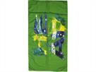 Head Printed Microfiber Towel Microfaser Handtuch 150 x 75 cm - brasil