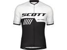 Scott RC Team 10 S/SL Shirt Trikot - L white/black