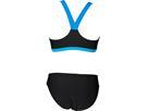 Arena Ren  Schwimmbikini - 40 black/pix blue/turquoise