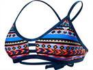 TYR Santa Fe Schwimmbikini black/multi Pacific Tieback Top + Cove Mini Bikini Bottom - 38