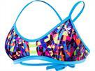 TYR Santa Marta Schwimmbikini purple/yellow Pacific Tieback Top + Mini Bikini Bottom black - 40